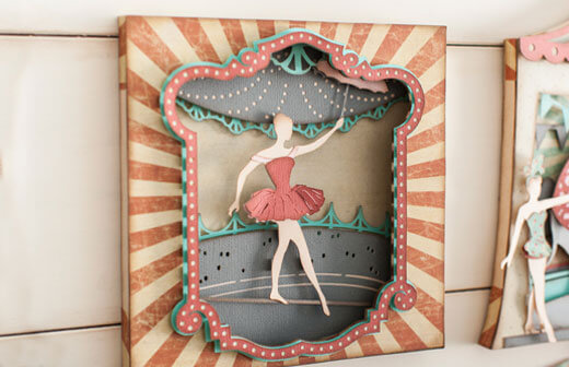 Ballerina Paper Crafts
