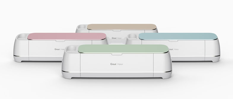 Cricut Maker in 4 Hues.