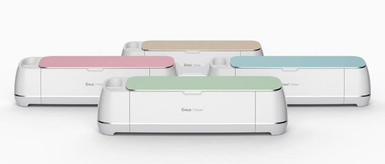 Cricut Makers in 4 Colors Wheel