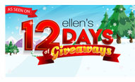 As Seen on Ellen's 12 Days of Givewaways