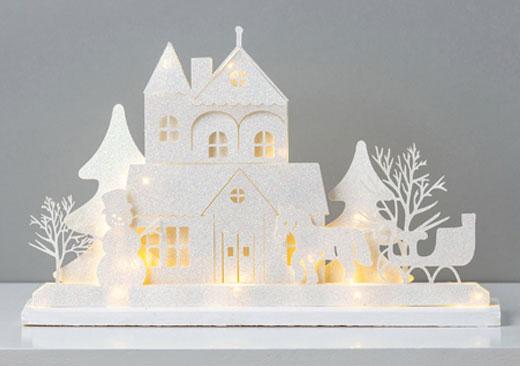3D White Scene - image