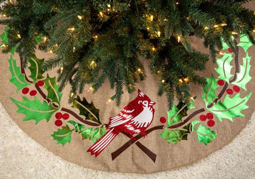 Cardinale Tree Skirt - image