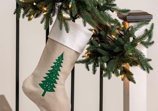 Pine Tree Stocking - image