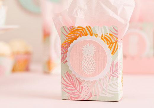 Pineapple Favor Bag - image