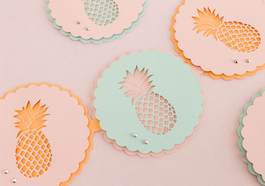Pineapple Party Garland