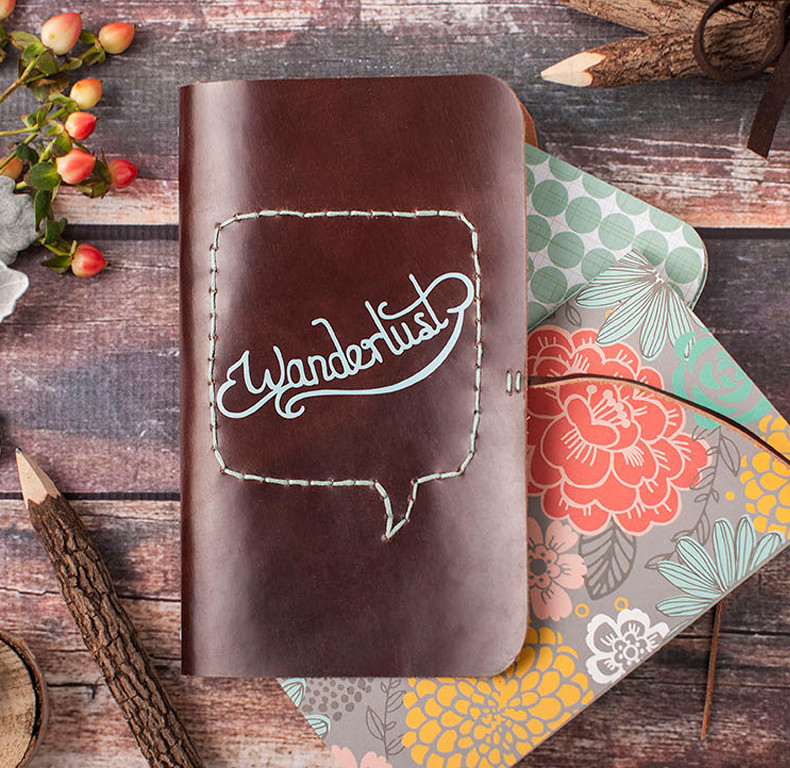 Traveler's Wanderlust Notebook