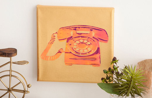 Telephone Canvas