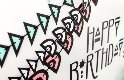Geometric Party Banners
