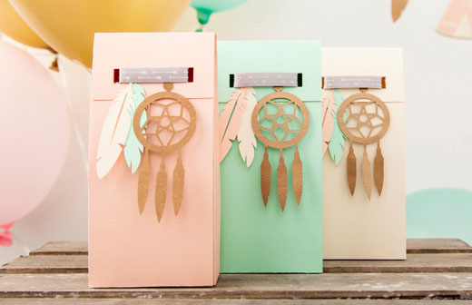 Dream Catcher Party Favors