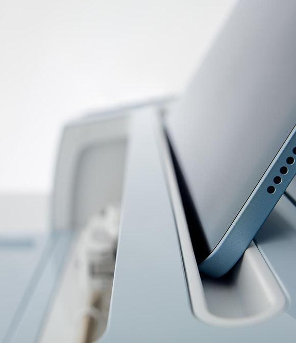 Cricut Maker 3's tablet holder