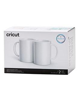 Ceramic Mug Blank, White - 15 oz/425 ml (2 ct)