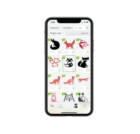 Design Space on phone