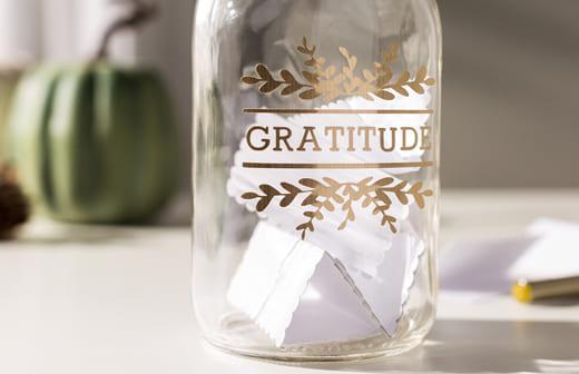 Barattolo della gratitudine