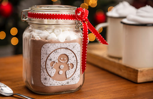 Hot Chocolate Jar