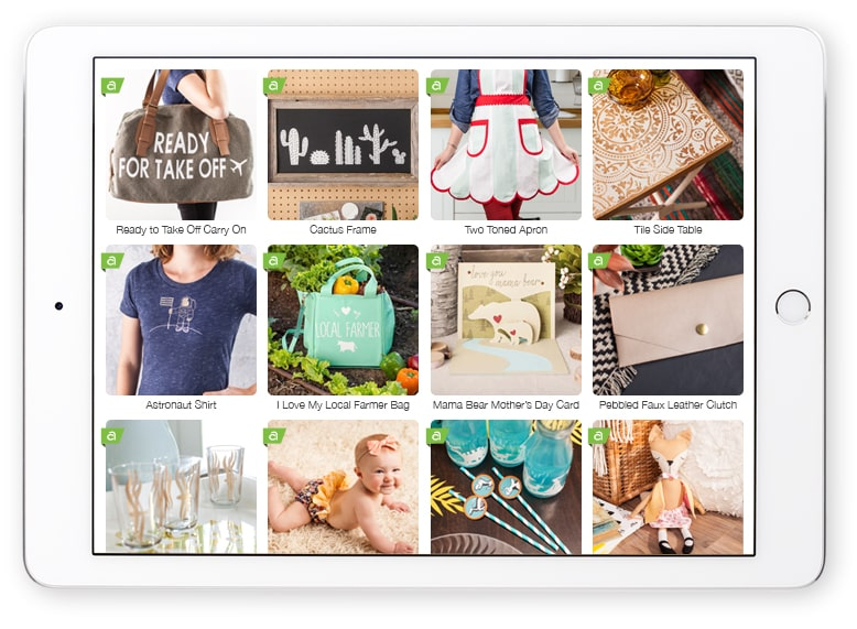 Cricut projects on iPad