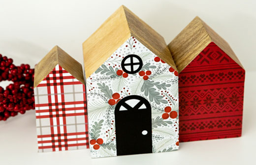 Decorated Wood Houses