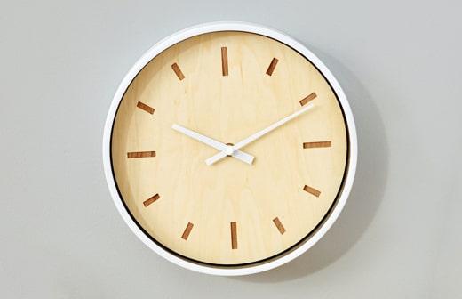 Veneer Clock Face