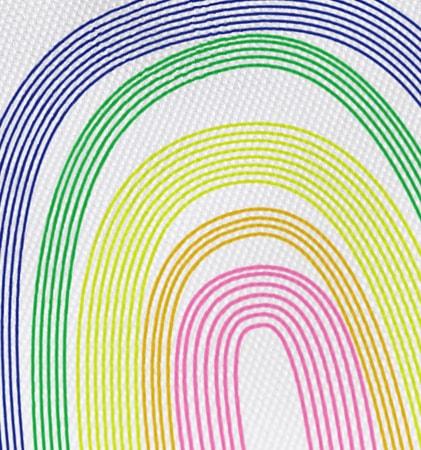 Regenbogen-Design