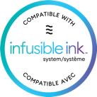 Compatible with infusible ink styem/systime Compatible Ave