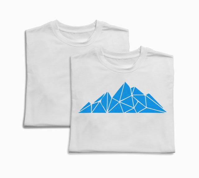 Geometric Mountain T-Shirt