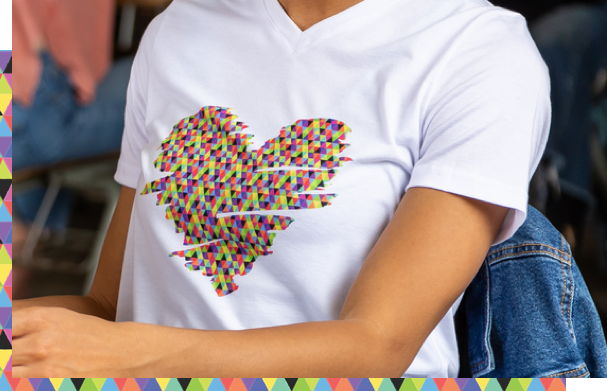 Heart Design Shirt