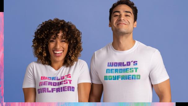 World's Nerdiest Girlfriend and Boyfriend