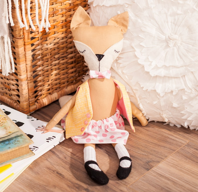 Fox Stuffie Doll