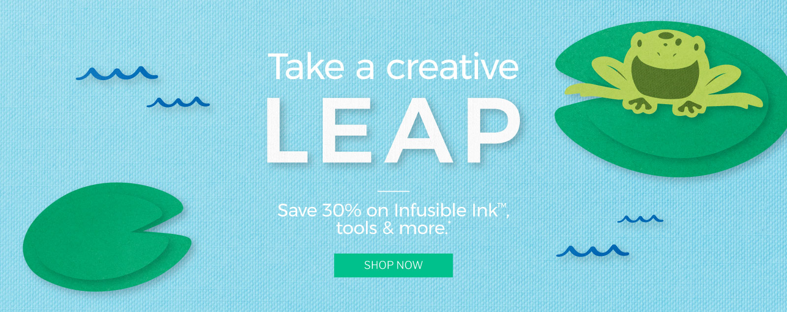 Take a creative leap.