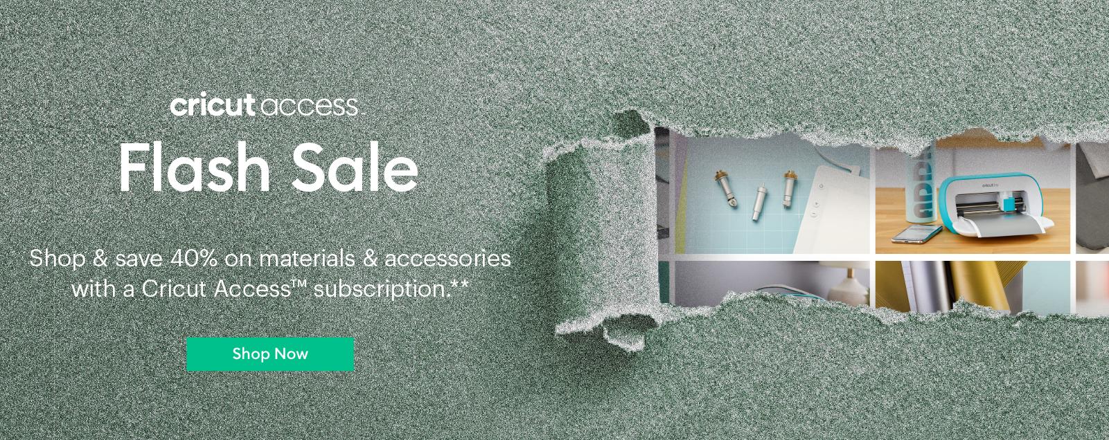Cricut Access Flash Sale
