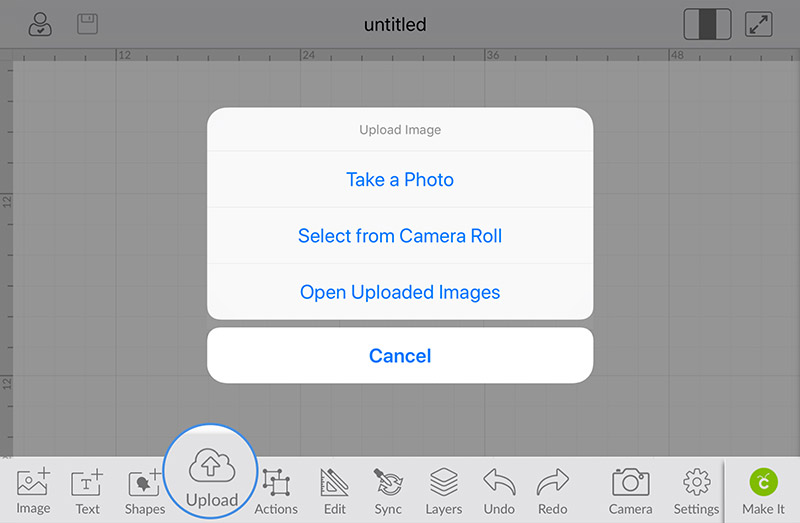 Excited about the new iOS image uploading capability!