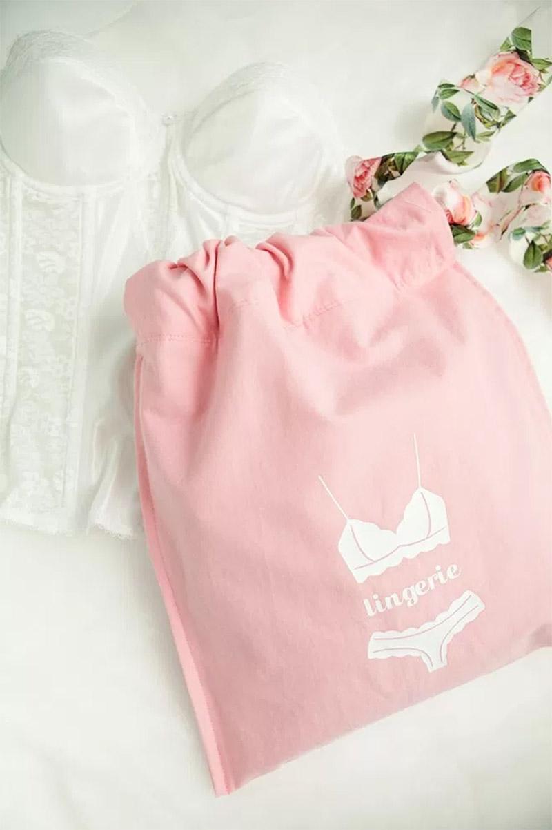Handmade lingerie bags