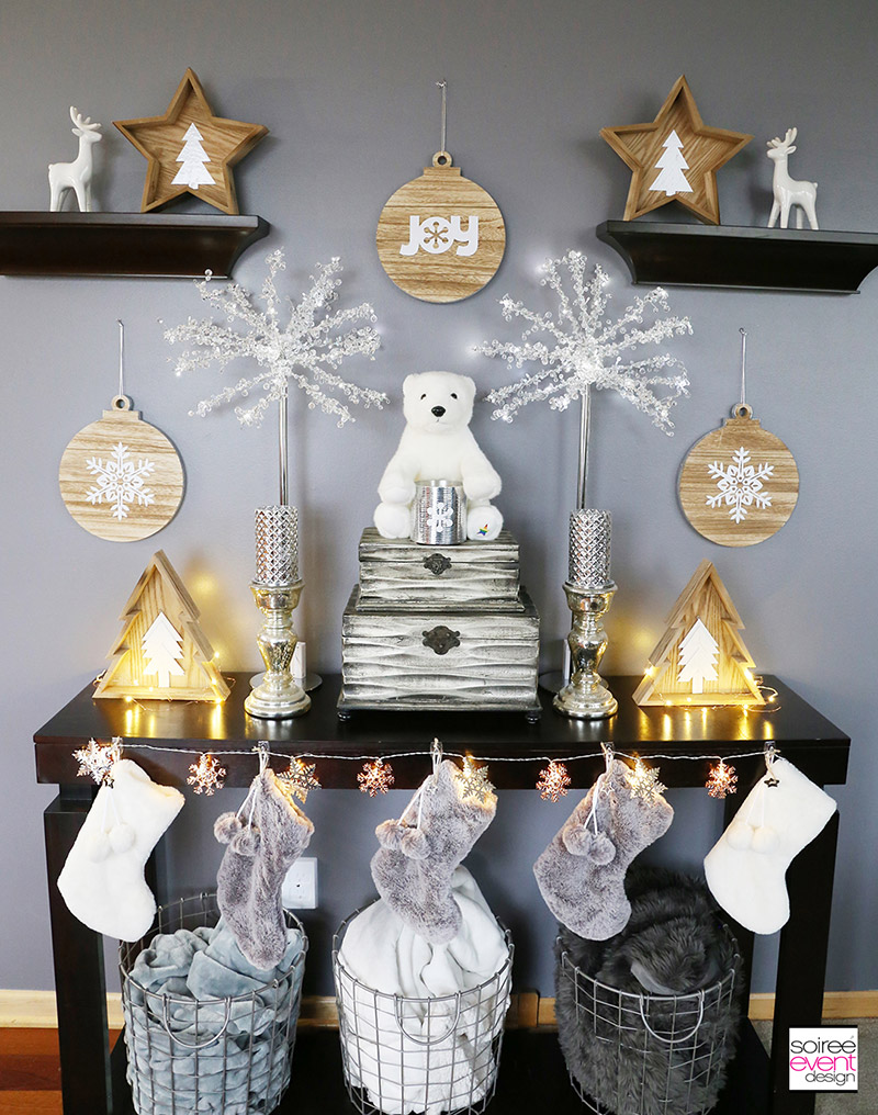 Farmhouse Holiday Decor by Soiree Event Design