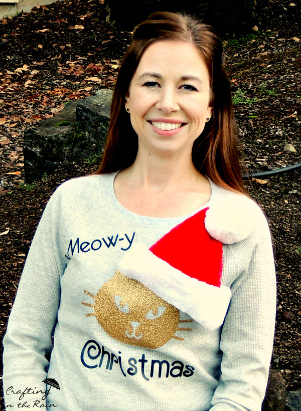 DIY Cat Ugly Christmas Sweater