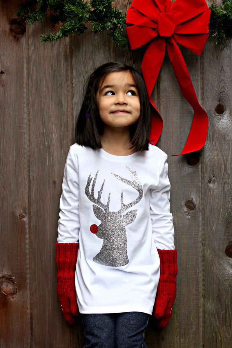 Hipster Rudolph T-shirt