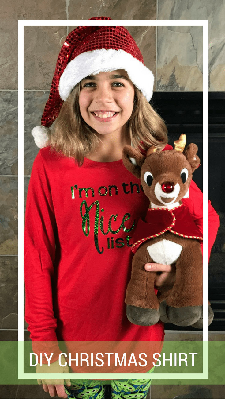I'm on the Nice List T-shirt