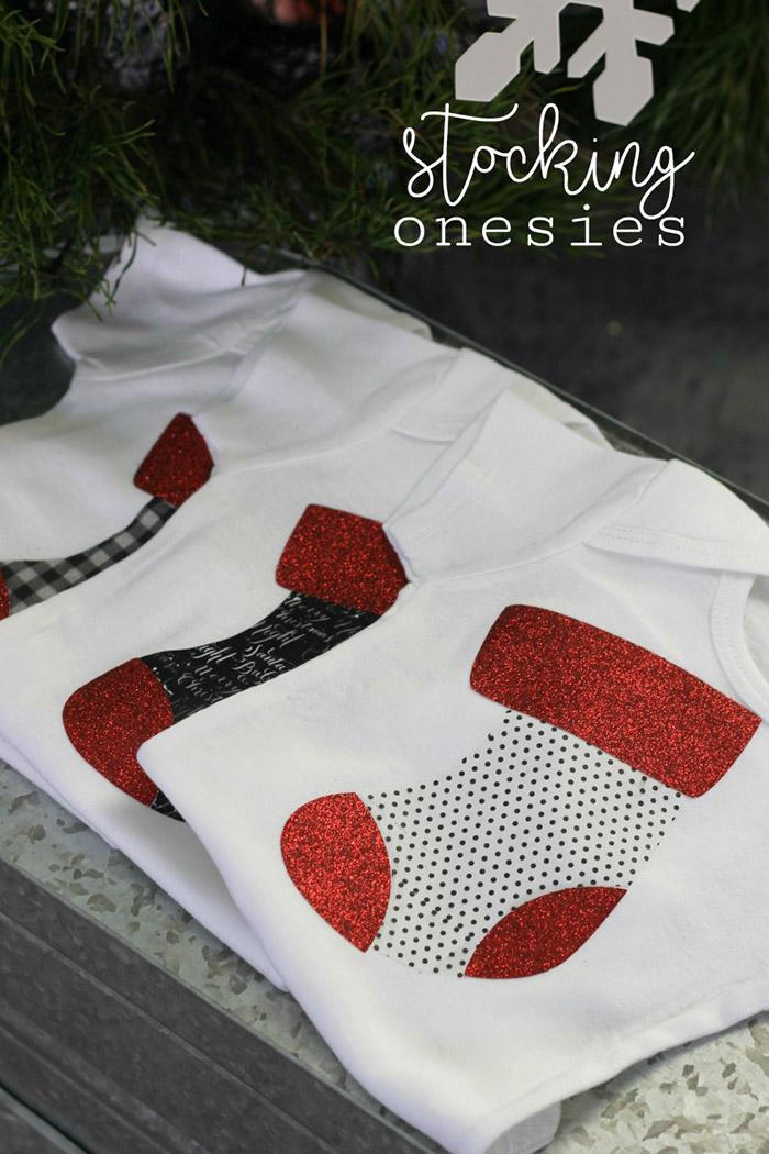 DIY Stocking Onesies