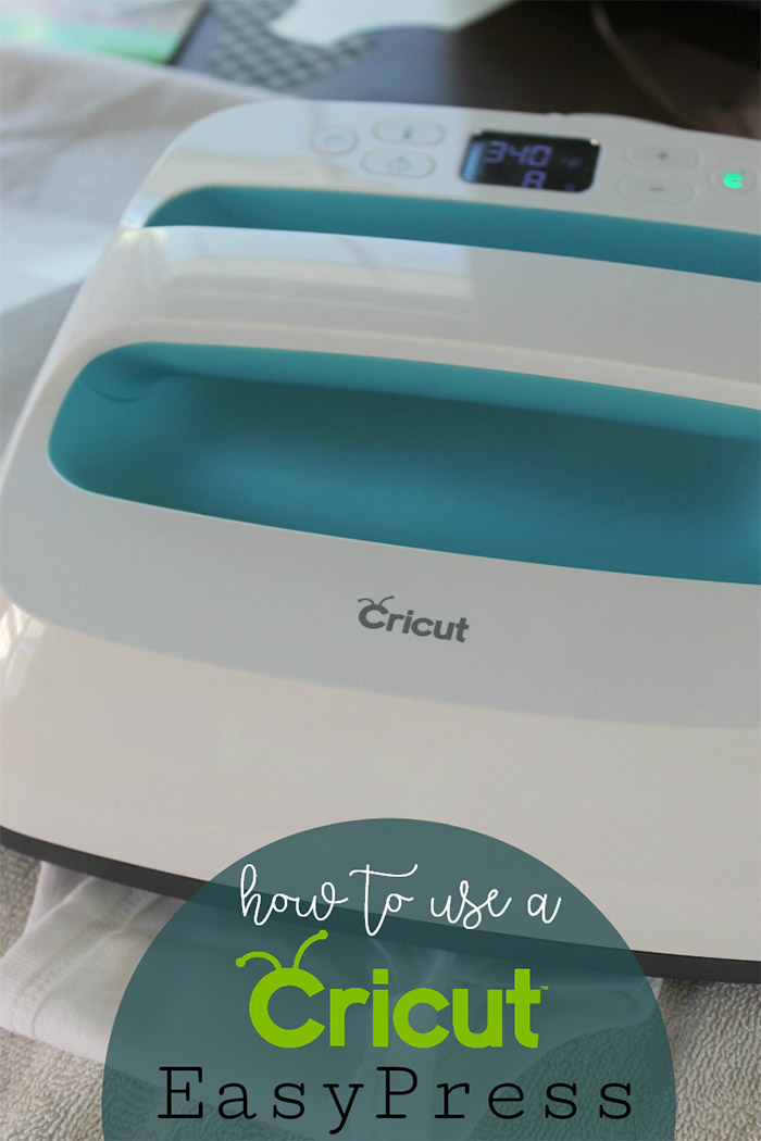 How to use a Cricut EasyPress for Iron-on