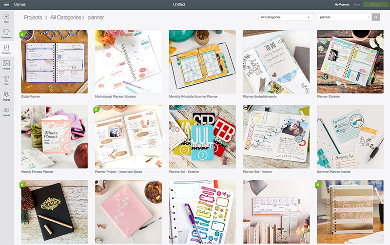 planner stickers | Cricut