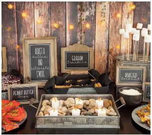 Wedding spread