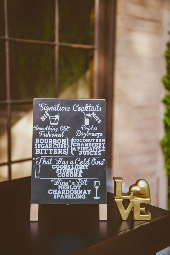 Faux Chalkboard Signs