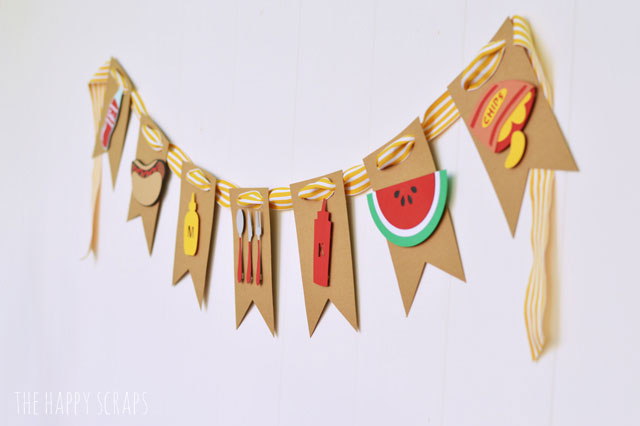 What an adorable BBQ themed banner!