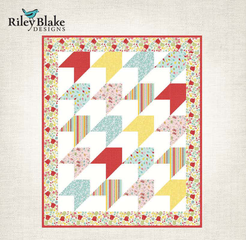Riley Blake Arrows Baby Quilt pattern