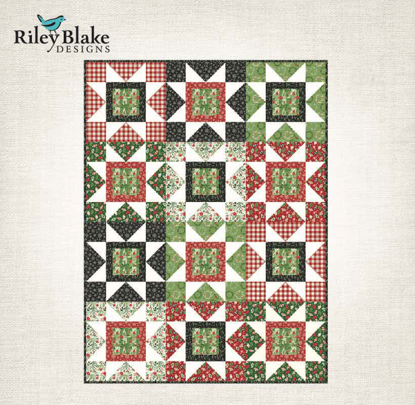 Big Star Throw pattern by Riley Blake Designs