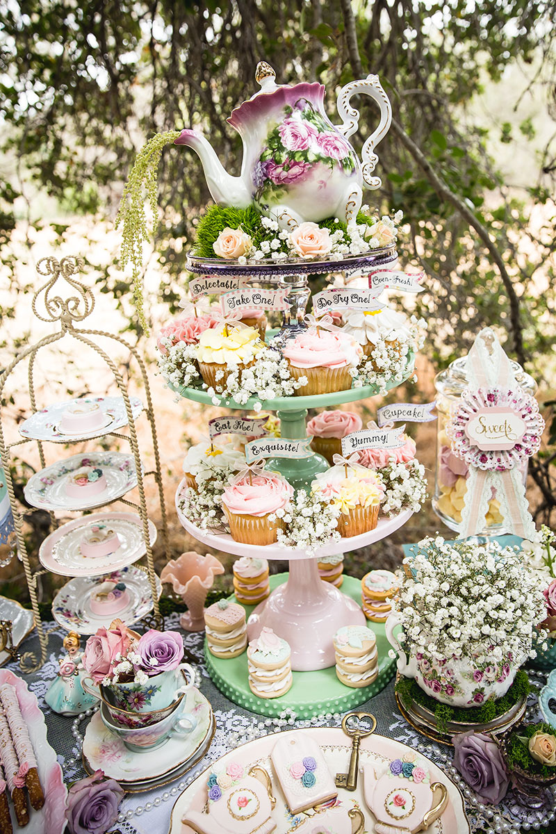 Make your sweets table stand out with these ideas!