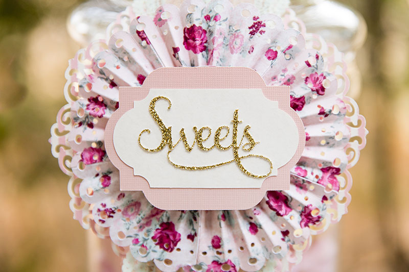 Sweets jar tag