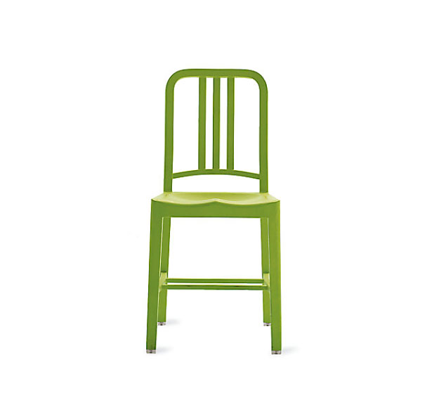 111 Navy Chair in Grass