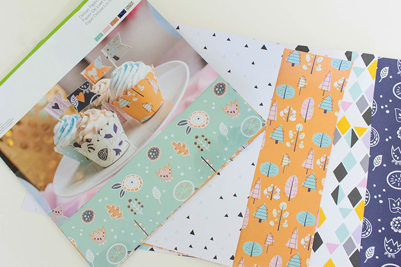 New Designer Papers from Cricut