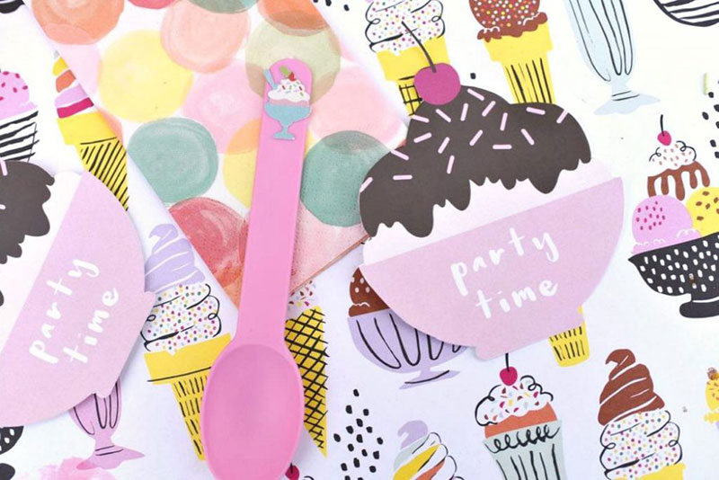 An ice cream party theme that will make for a sweet celebration