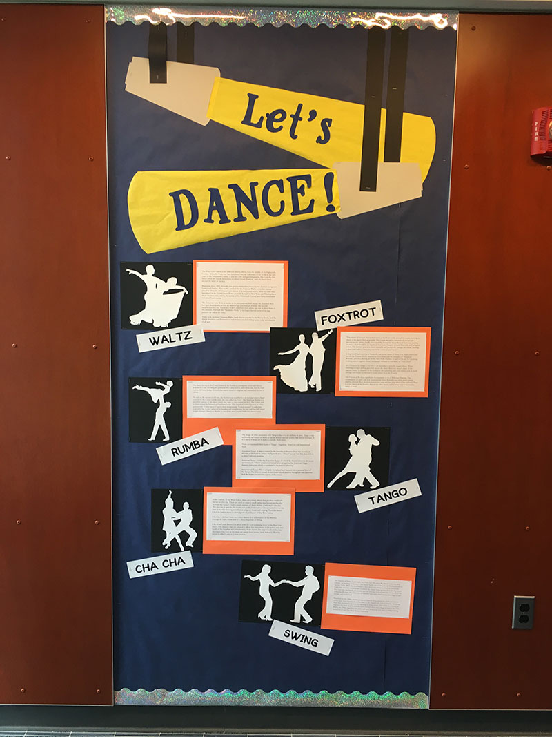 Dance styles poster