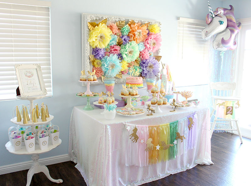 This Unicorn Party Will Make Your Eyes Sparkle